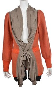 Lia Molly Womens Taupe Sweater