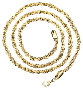 Other Classic 14K Gold, Rope Chain, 3mm #7280