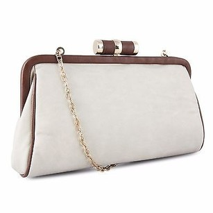 Other Miadora Lady Pia Soft Wallet W Detachable Chain Strap Gray Clutch