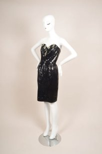 Vintage Julie Duroche Black Dress