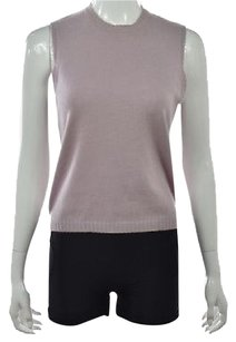 Other Mag By Magaschoni Crew Neck Textured Cashmere Casual Sweater
