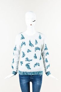 Risto Blue Silk Combo Sweater