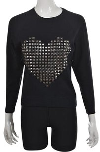 Other By Chance Womens Crewneck Studded Cotton Casual Sweater