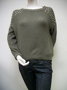 Ellison Olive Silver Sweater