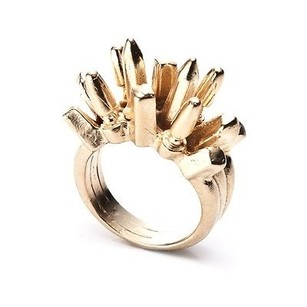Dannijo Beatrix Rose Gold Spike Ring