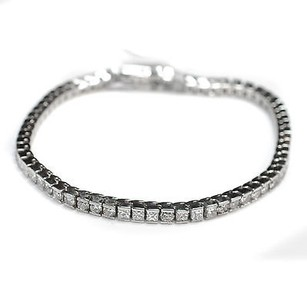 Diamond Tennis Bracelet Ct Diamonds K White Gold Grams Womens