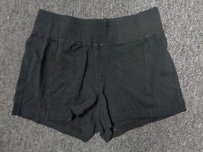 Donna Karan Sleepwear Shorts Black Stretchy Short Shorts Sm3260
