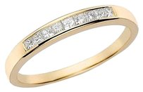 14 Ct Princess Diamond Tw Eternity Ring 14k Yellow Gold Gh I1