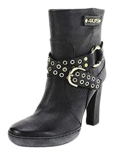 4us Womens Ankle black Boots