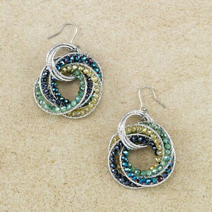 Other GENUINE HAND-MADE GLASS BEAD EARRINGS