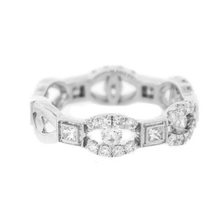 Other Glk 14k White Gold 1.00ct Diamond Anniversary Band