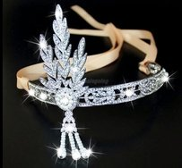 Great Gatsby 1920's Headband Replica Vintage Flapper Headpiece Bridal