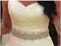 High Quality Bridal Sash Color Ivory