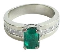 Other Emerald Diamond Ring Diamonds .40 Carat T.w. 14k White Gold Ring Max063905