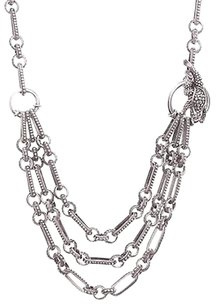 Other Barry Kielsenstein-cord Sterling Silver Toad Chain Toggle Necklace