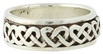 Other Celtic Knot Spin Ring - Sterling Silver Band Worry Moves 6.75 Unsex