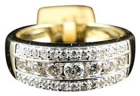 ,Mens,Yellow,Gold,Round,Cut,Diamond,8,Mm,Wedding,Band,Channel,Ring,1.1,Ct