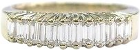 Other 18kt,Baguette,Diamond,Yellow,Gold,12-stone,Band,Ring,1.00ct