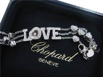 Chopard,18kt,Triple,Strand,Love,Hearts,Bracelet,1.54ct