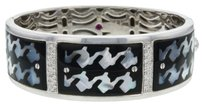 Roberto,Coin,18k,White,Gold,Black,Onyx,Diamond,Bangle