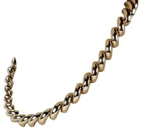 Other 14k Yellow Gold 12mm Italian San Marko Fashion Link Necklace 17.5