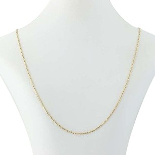 Other Rope Chain Necklace 24 - 14k Yellow Gold Womens Gift