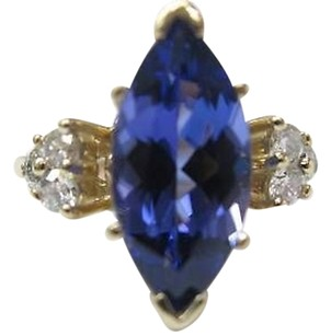 Fine,Gem,Tanzanite,Diamond,Anniversary,Jewelry,Ring,