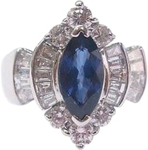 Other Fine,Gem,Sapphire,Diamond,Anniversary,Jewelry,Ring,Wg,2.14ct