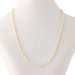 Other Keshi Pearl Strand Necklace 12 - 14k Yellow Gold Womens Fine Estate June