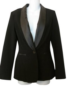 Other Label Tuxedo Jacket Vogue Jacket Black Blazer