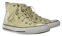 Other Converse All Star Womens Lace Up Sneakers High Top Beige Flats