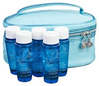 Lancome Makeup Bag and 5 Bi-Facil Eye Makeup Removers (Travel Size)