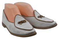 Other Belgian Womens Solid Loafers N Slip On white, tan Flats