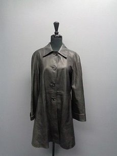 Other Anna Piazza Pitti Firenze Long Button Up Sm2240 Black Jacket