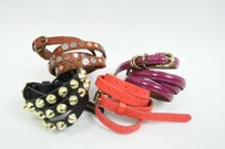 Lot Of J Crew Top Shop Gap Skinny Leather Studded Belts