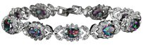 Other Luxury white Gold Bracelet with Austrian Crystals #4057