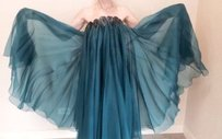 Blue Maxi Dress by Christian Gota Magnificent
