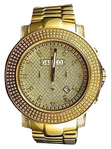 Mens Diamond And Diamond Co Jojo Jojino Joe Rodeo Iced Out Diamond Watch Ct
