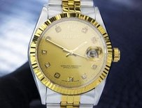 Mens Fantastic Elgin Luxury Swiss Made Automatic Gold Plated Dress Watch T758