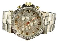 Other Mens Jojojojino Joe Rodeo Phantom Stainless Steel 3.25 Ct Jptm40 Diamond Watch