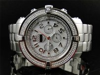 Mens Pwc Joe Rodeo Jojo Jojino Aqua Master White 5th Avenue Diamond Watch 5av100