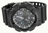 Other Mens Sports Watch Black Color Shock Resistant Digital Analog Water Resistant