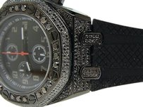 Mens Techno Com Kc Black On Black Diamond Watch Ct