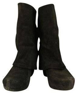 Other Vera Wang Lavender Joie Womens Mid Calf Suede Black Boots