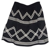 LiL Pristine Condition Size 4 Mini Skirt Black / white