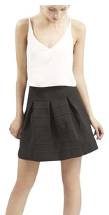Other Mini Fit And Flare Casual Layered Mini Skirt
