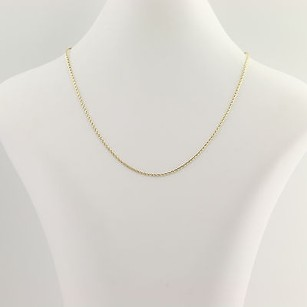 Other Modified Wheat Chain Necklace 34 - 10k Yellow Gold Womens