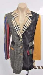 Moschino Couture Wool Multi-Color Jacket