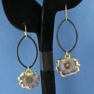 Other Nina Nguyen Audrey Earrings Stalactite Drops 925 Silver 22k Yg
