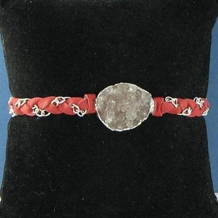 Other Nina Nguyen Cordelia Bracelet Red Oval Brown Druzy Sterling Silver